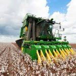 Deere cotton picker
