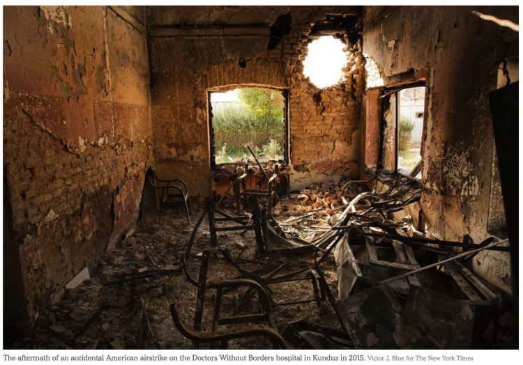 16 Years of War in Afghanistan, in Pictures By ROD NORDLAND AUG. 22, 2017 NYTImes