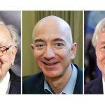 Buffet, Bezos, Dimon