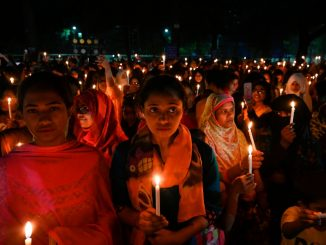 From NYTimes - Bangladeshi women on Internaitonal Women's Day