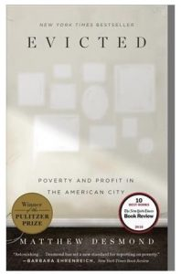 Evicted:poverty and profit in the American city by M. Desmond